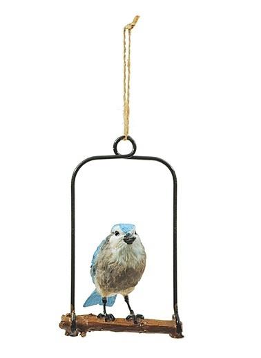 Ağaçta Asılı Kuş Obje-Warm Design